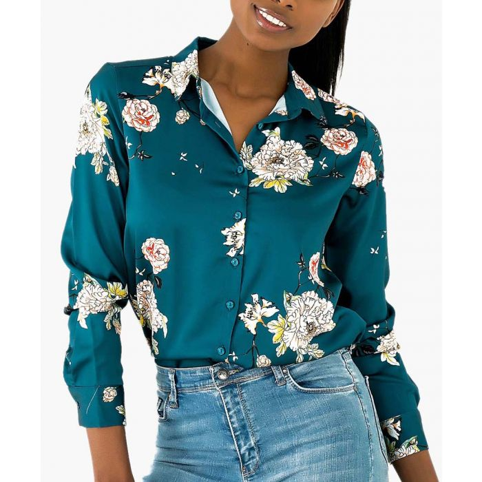 Image for Floral printed shirt