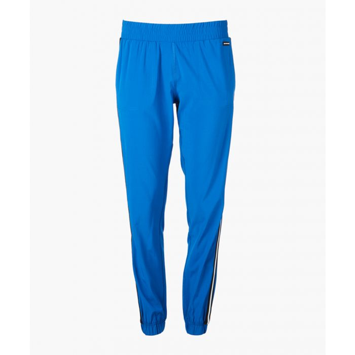 Image for Lapis blue striped joggers
