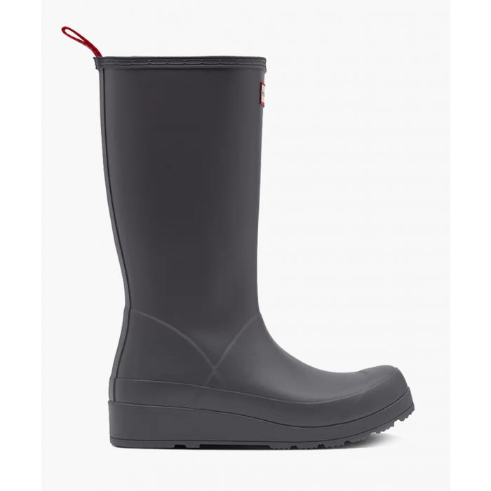 Image for Grey tall boots