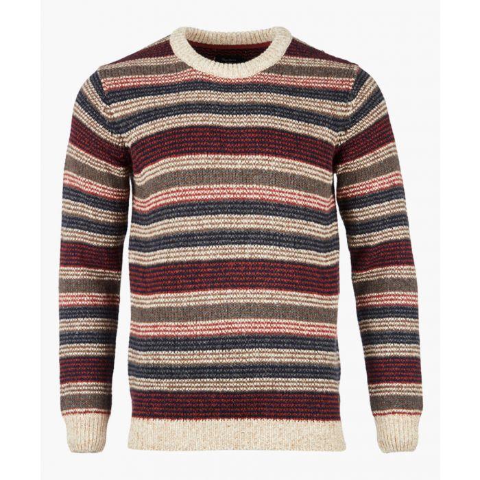 Image for Multi-colour striped knit jumper