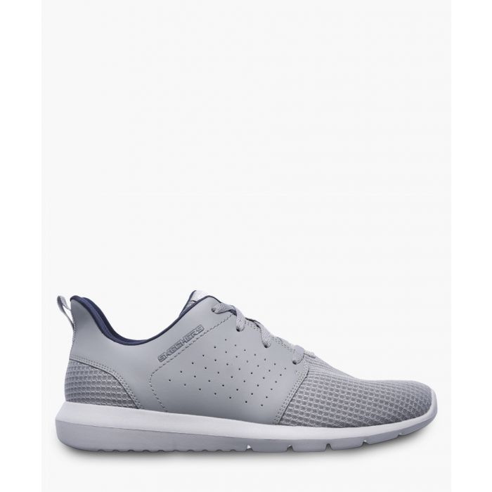 Image for Foreflex grey lace-up trainers