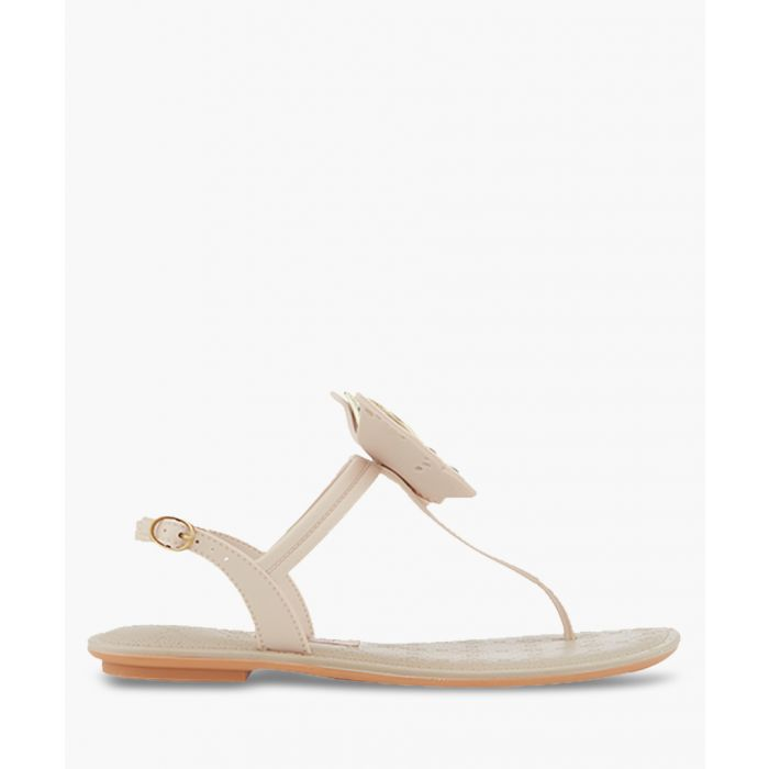 Image for Sense nude butterfly T bar sandals