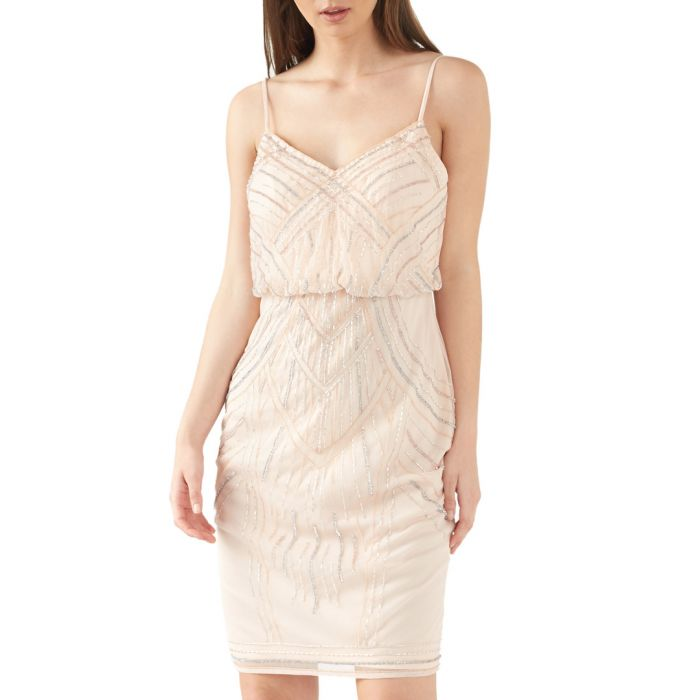 Image for Blush embroidered dress