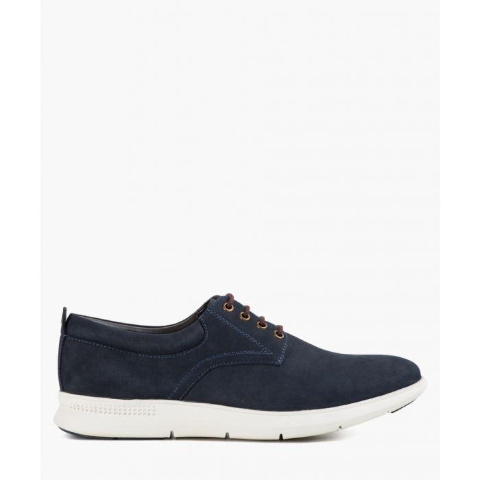 Image for Morrison navy casual derby shoes