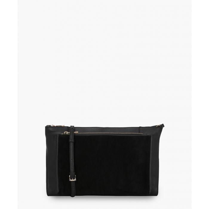 Image for Amalfi black leather crossbody