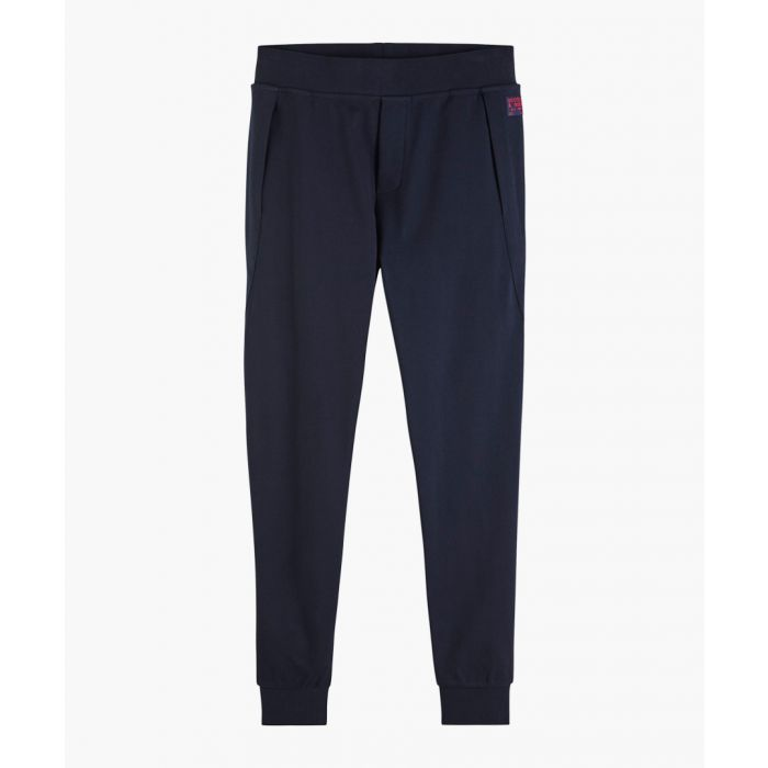 Image for Night blue cotton joggers
