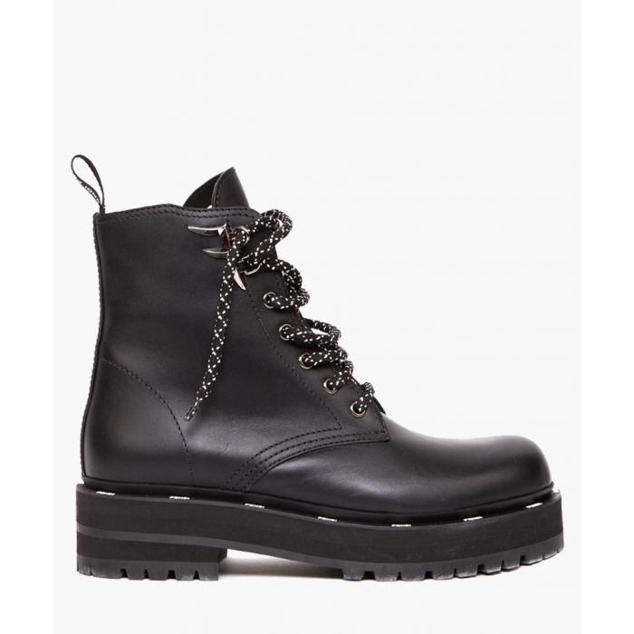 Image for Fredom leather black boots