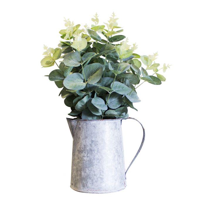 Image for Artificial eucalyptus & jug 38cm