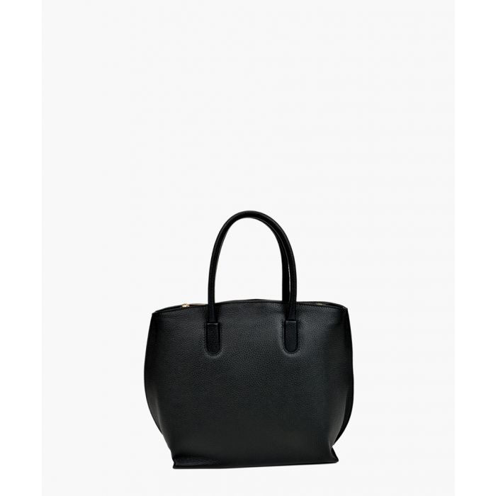Image for Black leather bag
