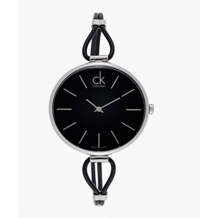Image for Silver-tone and black watch