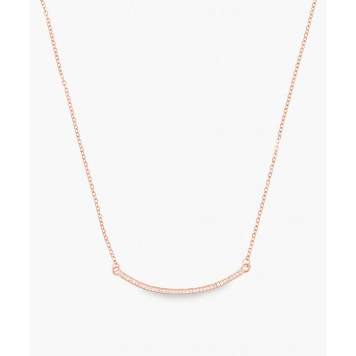 Image for Chestplate rose gold-plated necklace