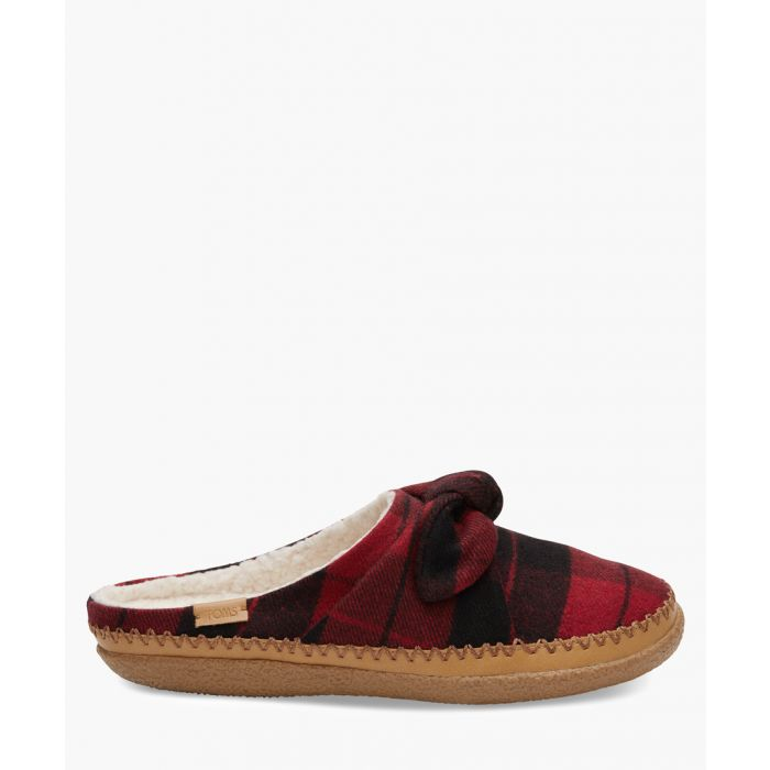 Image for Ivy red canvas shoes