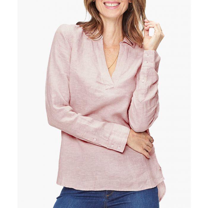 Image for Hammock stripe linen popover tunic