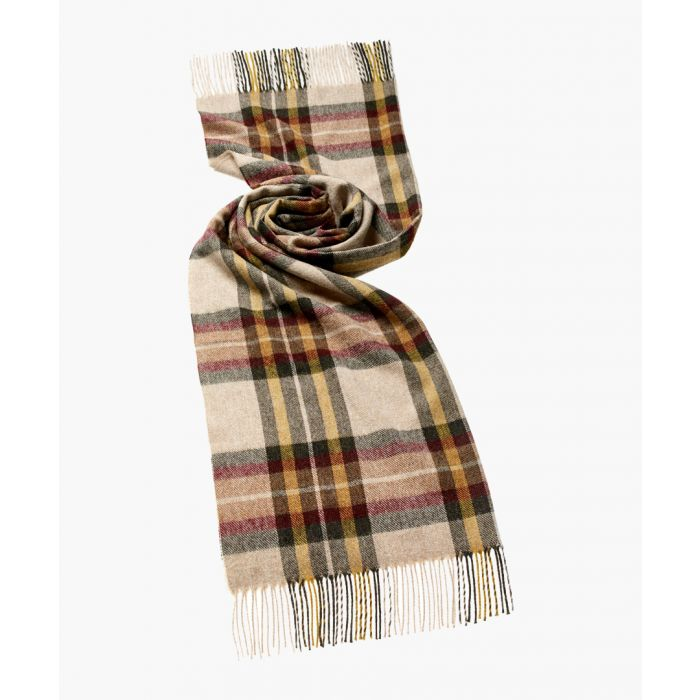 Image for Ripon olive pure wool scarf