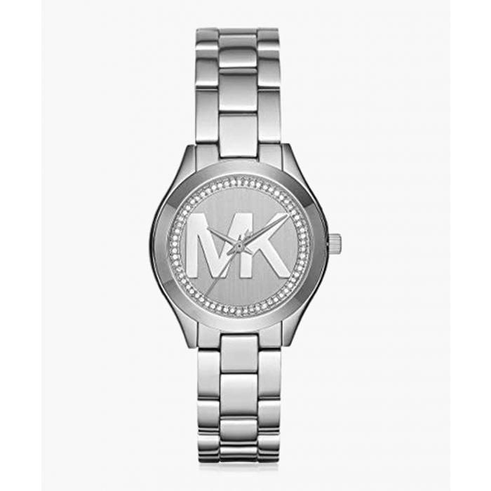 Image for Silver-plated stainless steel watch