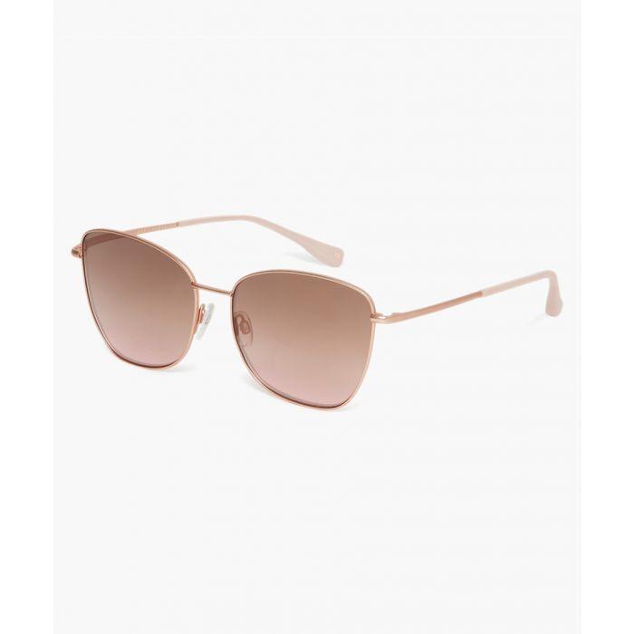 Image for Ariel rose gold-tone sunglasses