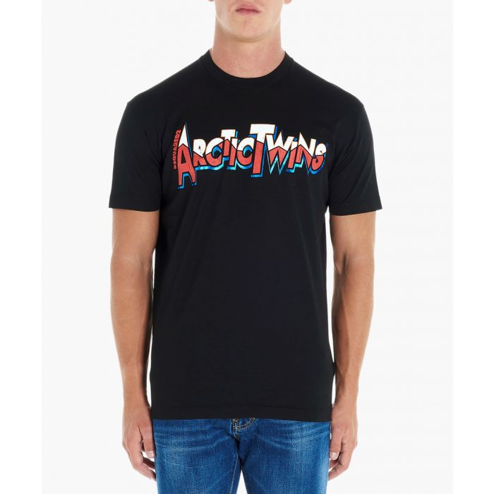 Image for Arctic Twins black cotton T-shirt