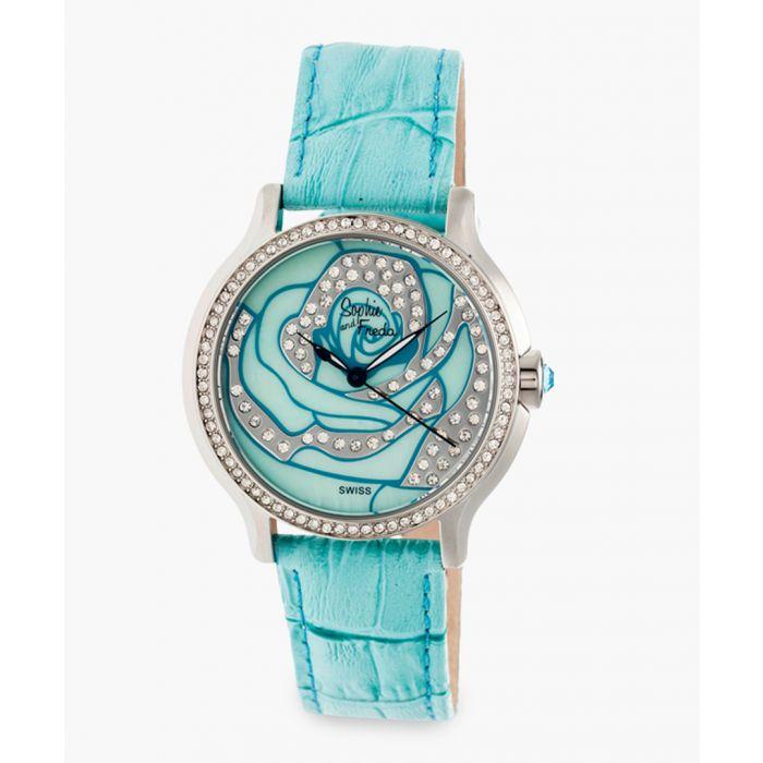 Image for Monaco turquoise watch