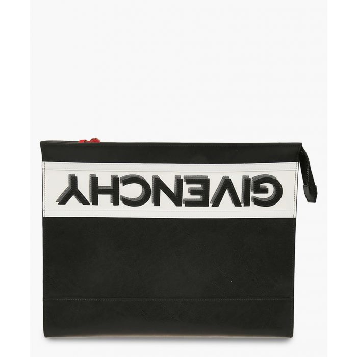 Image for reverse givenchy logo pouch