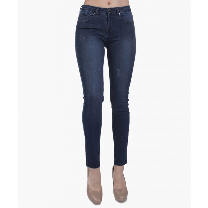 Image for Navy blue jeans