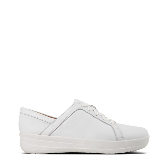 Image for F-Sporty II urban white leather trainers