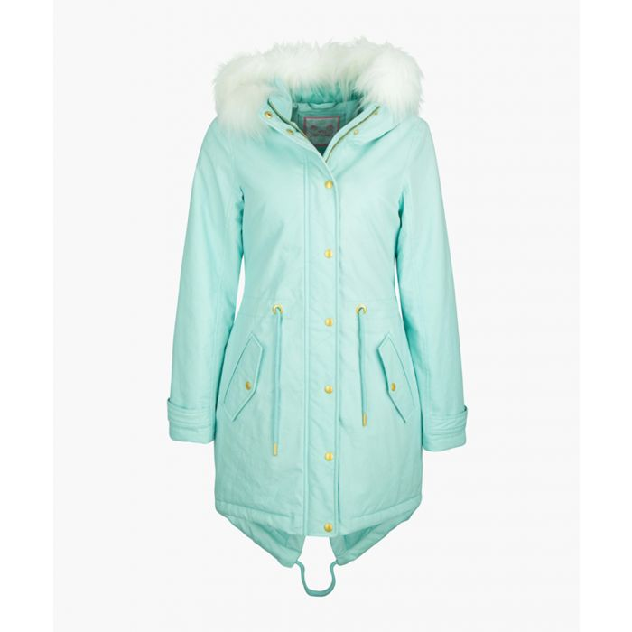 Image for Mint hooded print parka
