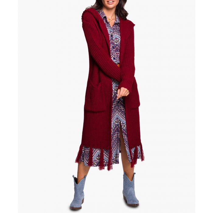 Image for Maroon cardigan