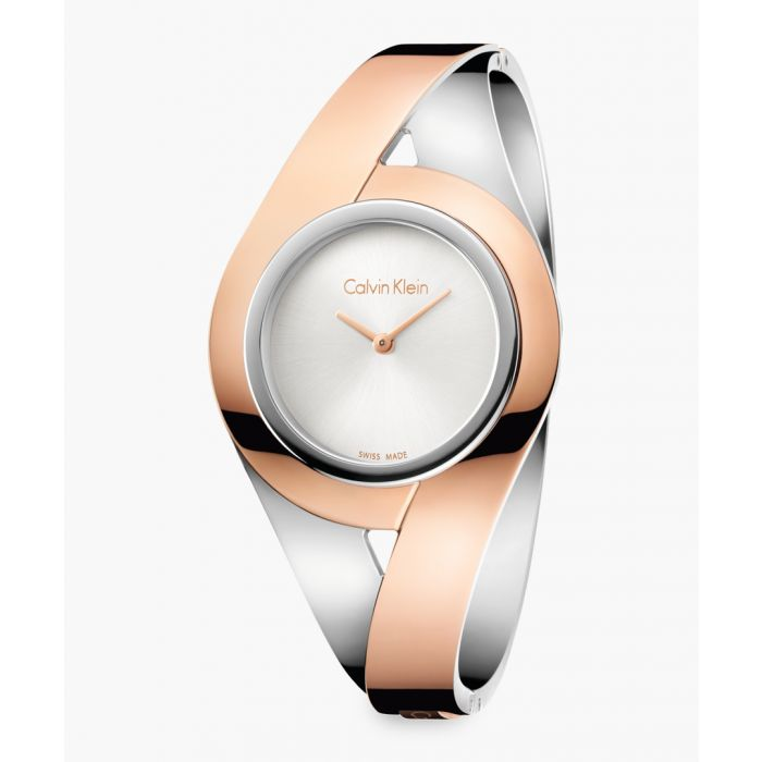 Image for Dual-plated and white dial watch
