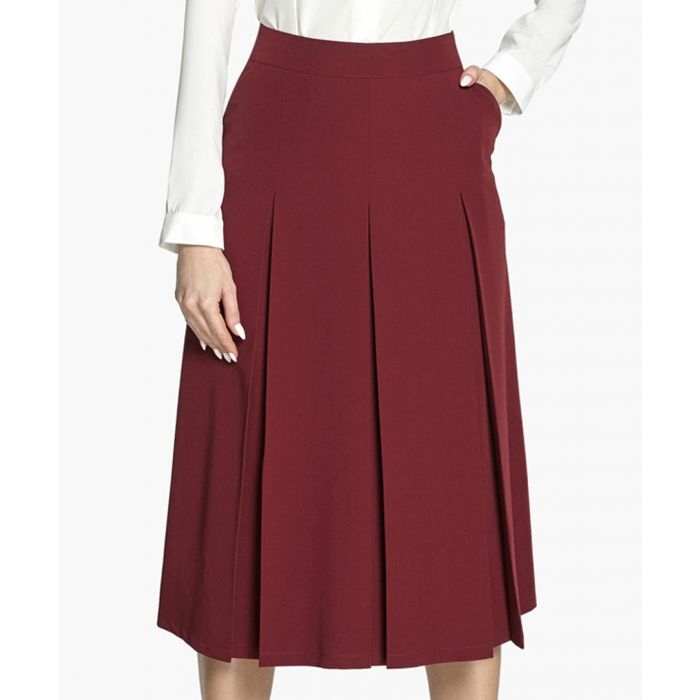 Image for Maroon skirt