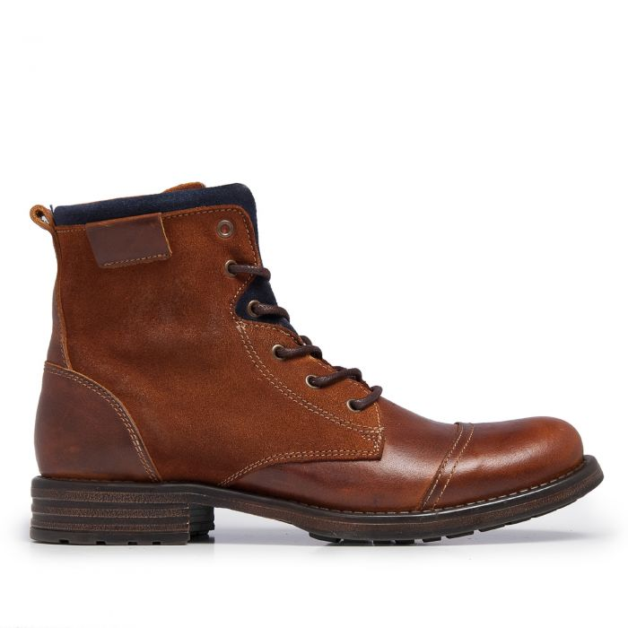 Image for Brown leather boots