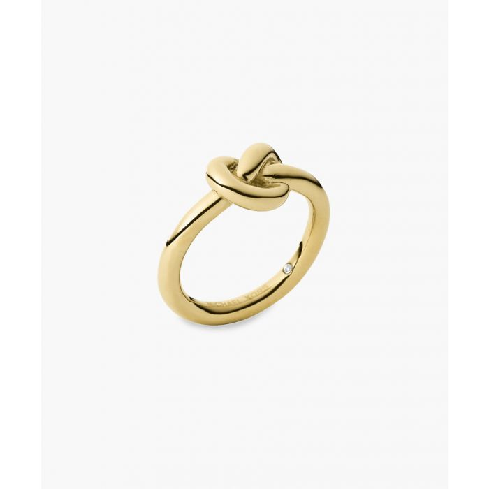 Image for 14ct Gold-plated stainless steel ring