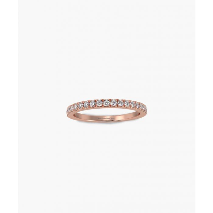 Image for 9k rose gold and 0.25ct diamond eternity ring