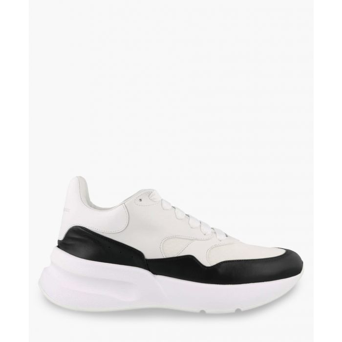 Image for White and black trainers