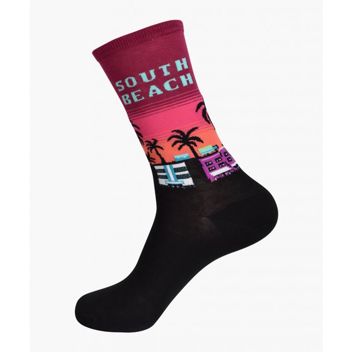 Image for 2pc South Beach cotton-blend socks
