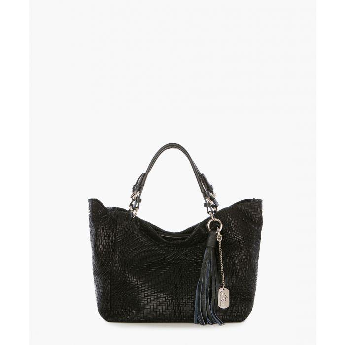 Image for Solana black shoulder bag