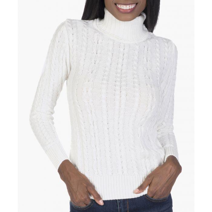 Image for Ecru cotton-blend