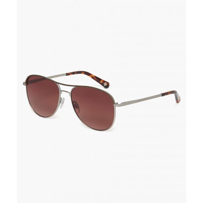 Image for Tate silver-tone sunglasses