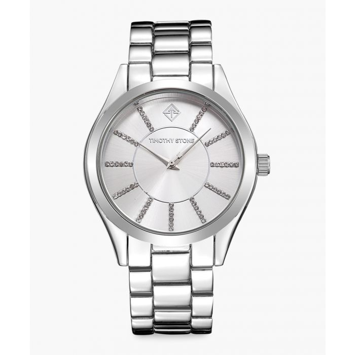 Image for Charme silver-tone stainless steel watch