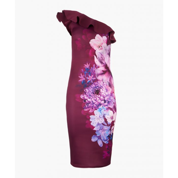 Image for Willow Berry multi-coloured printed dress