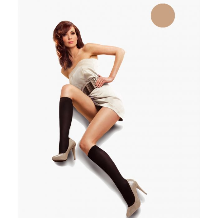 Image for Black knee-high socks 50 denier