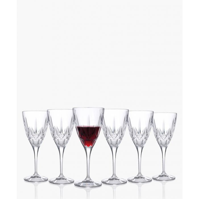 Image for 6pc Chic Luxion Crystal red wine glasses 360ml