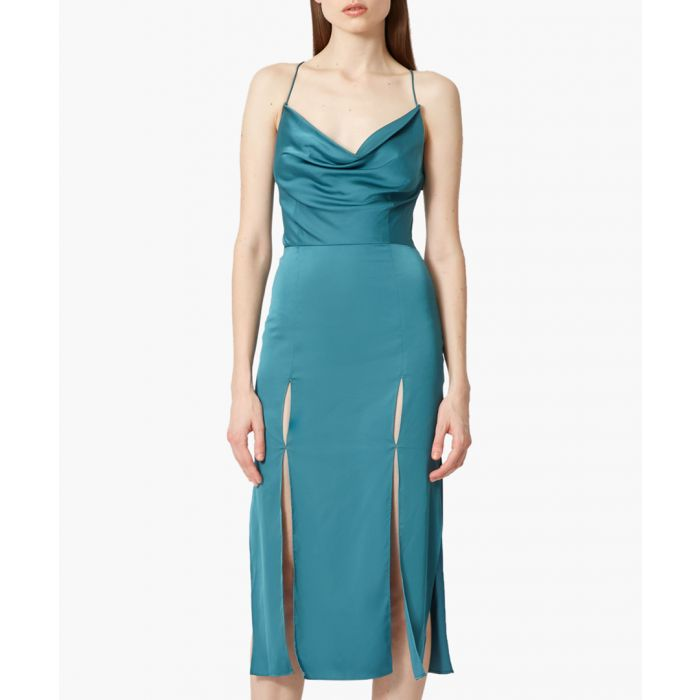Image for Teal Finley teal midi dress