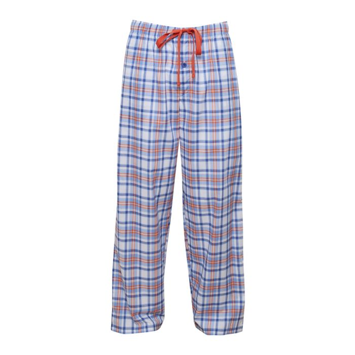 Image for Oscar blue check pyjama trousers