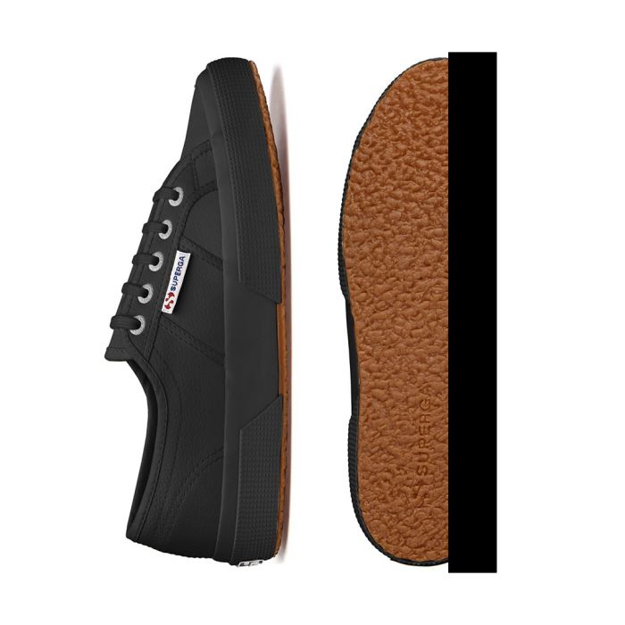 Image for Black low top sneakers