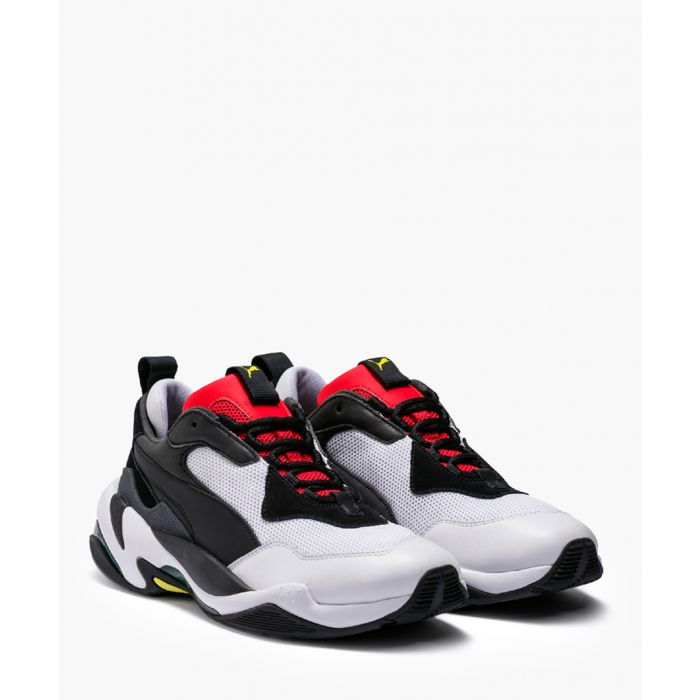 Image for Thunder Spectra black red and white trainers