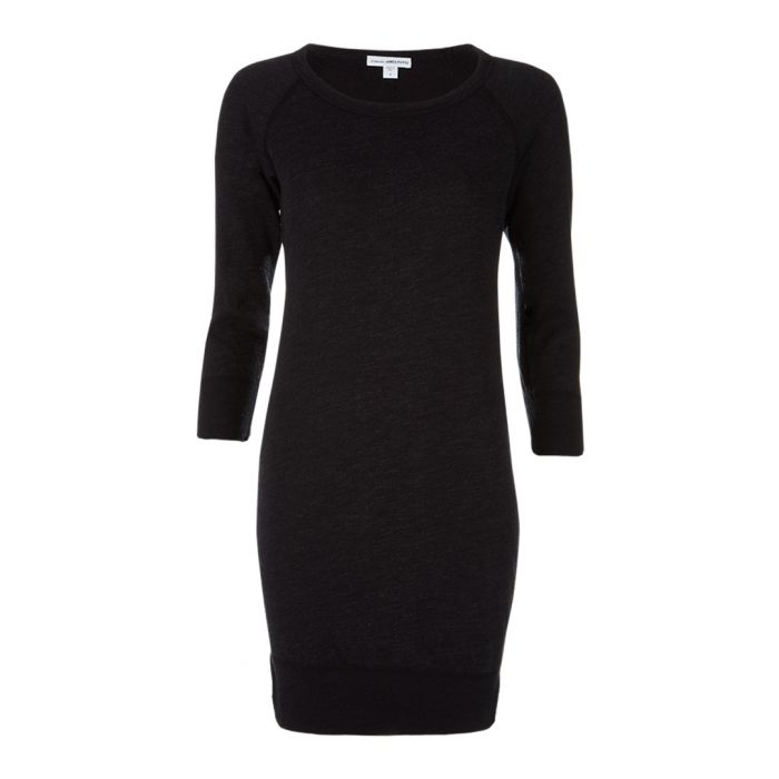 Image for Black jumper dress