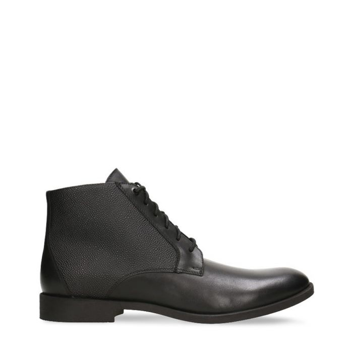 Image for black leather classic boots