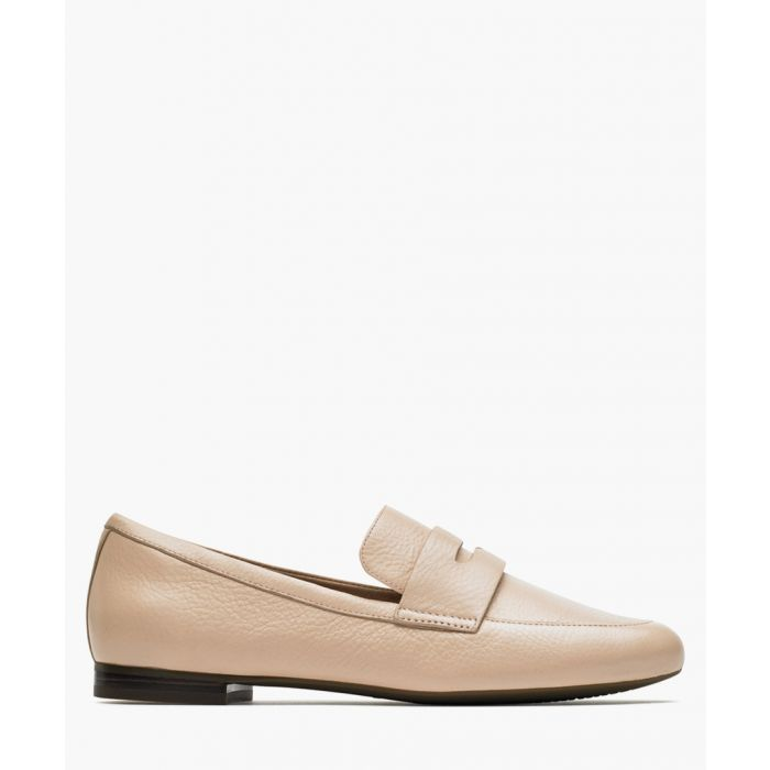 Image for Tavia penny pink leather loafers