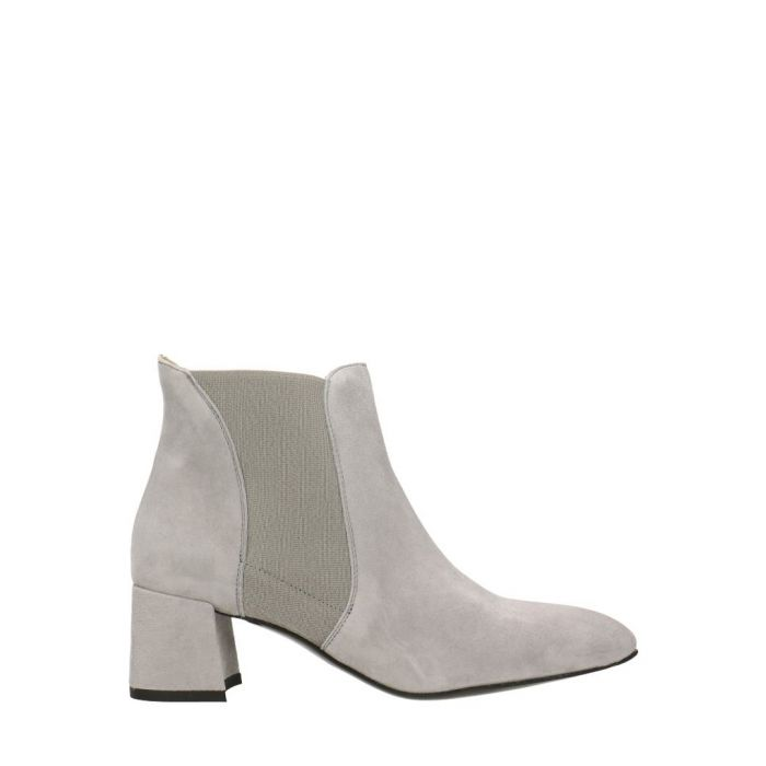 Image for Light grey suede ankle boots