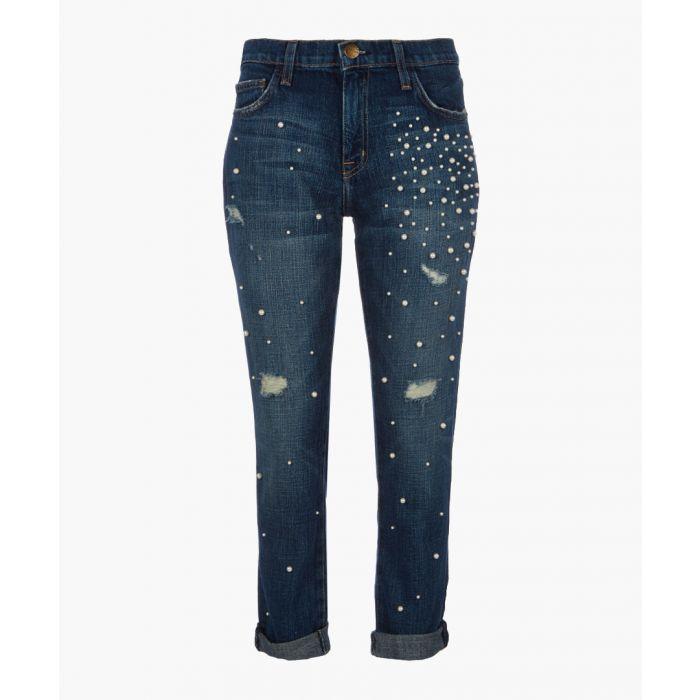 Image for The Fling embellished boyfriend jeans